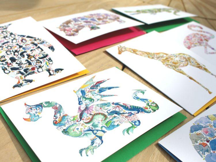 Louise Tate Illustration | Midsummer & Midwinter Fair | Exhibitor at Wealden Times Fair.