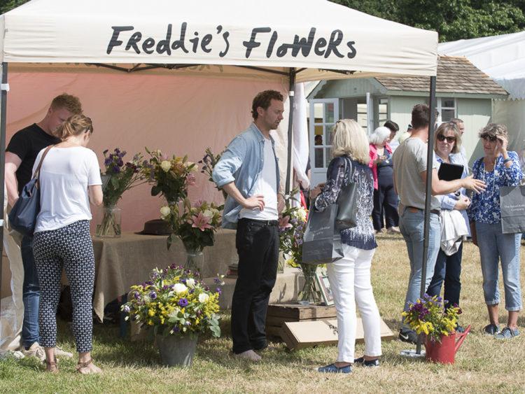 Freddie's Flowers | Exhibitor at Wealden Times Fair | Hole Park | Rolvenden | Midsummer Fair.