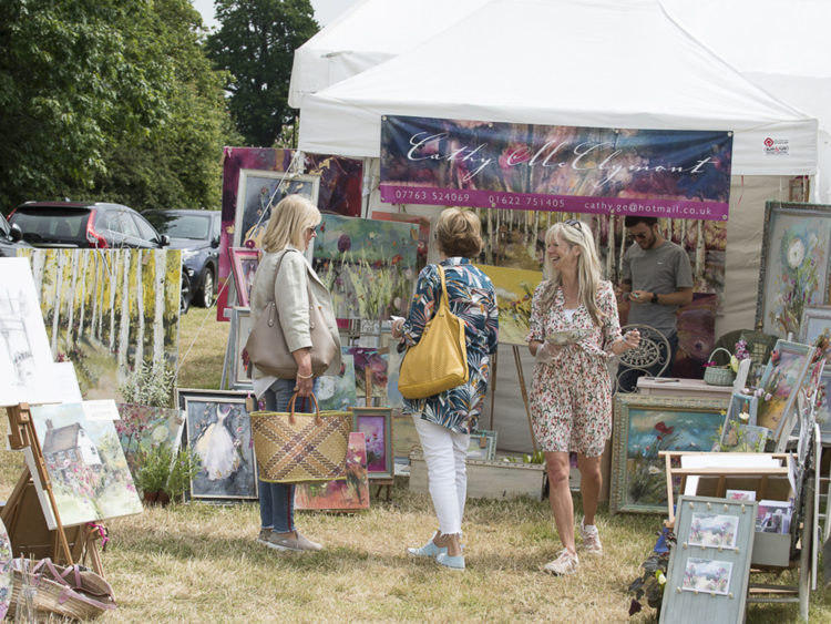 Cathy McClymont | Exhibitor at Wealden Times Fair | Hole Park | Rolvenden | Midsummer Fair.