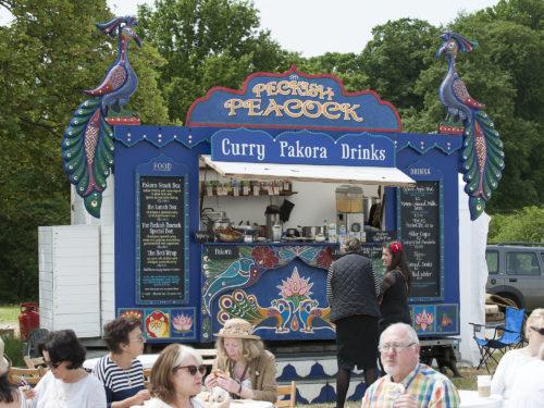 The Peckish Peacock | Exhibitor at Wealden Times Fair | Hole Park | Rolvenden | Midsummer Fair.