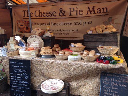 The Cheese and Pie Man | Midsummer & Midwinter Fair | Exhibitor at Wealden Times Fair.